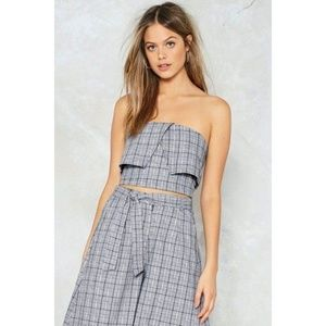 Nasty girl k Bandeau Top and Culottes